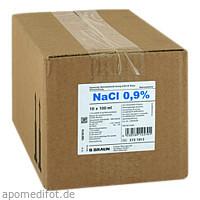 Kochsalzlösung 0.9% Miniflac, 10X100 ML, B. Braun Melsungen AG