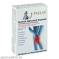 PALLAS Gelenk-Nährstoff Kapseln, 30 Stück, Monopharma GmbH