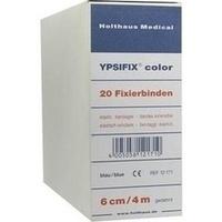 YPSIFIX 6CMX4M COLOR FIXIERBINDE BLAU, 20 ST, Holthaus Medical GmbH & Co. KG