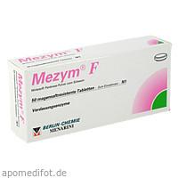 MEZYM F MAGENSAFTRESISTENT, 50 ST, Berlin-Chemie AG