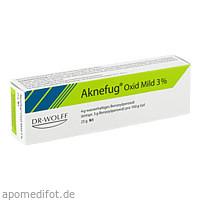 AKNEFUG-OXID MILD 3%, 25 G, Dr. August Wolff GmbH & Co. KG Arzneimittel