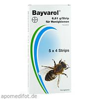 BAYVAROL Strips f.Bienen, 5X4 ST, Bayer Vital GmbH GB - Tiergesundheit