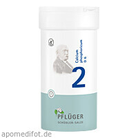 Biochemie Pflüger Nr. 2 Calcium phosphoricum D 6, 400 ST, Homöopathisches Laboratorium Alexander Pflüger GmbH & Co. KG