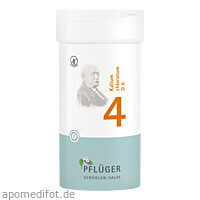 Biochemie Pflüger Nr. 4 Kalium chloratum D 6, 400 ST, Homöopathisches Laboratorium Alexander Pflüger GmbH & Co. KG