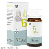 Biochemie Pflüger Nr. 6 Kalium sulfuricum D 6, 100 ST, Homöopathisches Laboratorium Alexander Pflüger GmbH & Co. KG