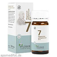 Biochemie Pflüger Nr. 7 Magnesium phosphoricum D 6, 100 ST, Homöopathisches Laboratorium Alexander Pflüger GmbH & Co. KG