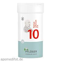 Biochemie Pflüger Nr. 10 Natrium sulfuricum D 6, 400 ST, Homöopathisches Laboratorium Alexander Pflüger GmbH & Co. KG
