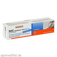 NAC-ratiopharm akut 200mg Hustenlöser, 20 ST, ratiopharm GmbH