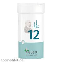 Biochemie Pflüger Nr. 12 Calcium sulfuricum D 6, 100 G, Homöopathisches Laboratorium Alexander Pflüger GmbH & Co. KG
