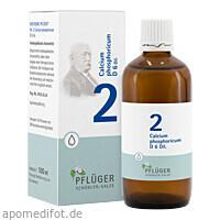 Biochemie Pflüger Nr. 2 Calcium phosphoricum D 6, 100 ML, Homöopathisches Laboratorium Alexander Pflüger GmbH & Co. KG
