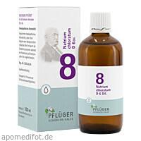 Biochemie Pflüger Nr. 8 Natrium chloratum D 6 Dil., 100 ML, Homöopathisches Laboratorium Alexander Pflüger GmbH & Co. KG