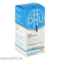 Biochemie DHU 4 Kalium chloratum D 6 Karto, 200 ST, Dhu-Arzneimittel GmbH & Co. KG