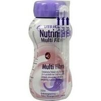NutriniDrink MultiFibre Erdbeergeschmack, 200 Milliliter, Nutricia Milupa GmbH