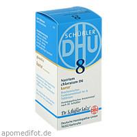 Biochemie DHU 8 Natrium chloratum D 6 Karto, 200 ST, Dhu-Arzneimittel GmbH & Co. KG