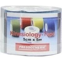 Pressotherm Kine-Med-Tape 5cmx5m blau, 1 ST, Abc Apotheken-Bedarfs-Contor GmbH