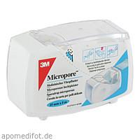 MICROPORE 2.50CMX5M ROLLENPFLASTER, 1 ST, 3M Medica Zwnl.d.3M Deutschl. GmbH