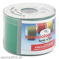 Pressotherm Kine-Med-Tape 5cmx5m grün, 1 ST, Abc Apotheken-Bedarfs-Contor GmbH