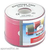 Pressotherm Kine-Med-Tape 5cmx5m pink, 1 ST, Abc Apotheken-Bedarfs-Contor GmbH