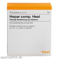 Hepar comp. Heel, 10 ST, Biologische Heilmittel Heel GmbH