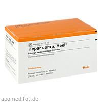 Hepar comp. Heel, 50 ST, Biologische Heilmittel Heel GmbH