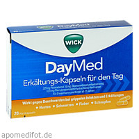 WICK DayMed Erkältungskapseln 552114, 20 ST, Procter & Gamble GmbH