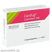 CANIFUG CREMOLUM 200, 3 ST, Dr. August Wolff GmbH & Co. KG Arzneimittel