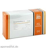 Streptokokken A Schnelltest-Set Teststreifen, 20 ST, Doclab GmbH