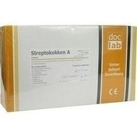 Streptokokken A Schnelltest-Set Testkarten, 20 ST, Doclab GmbH