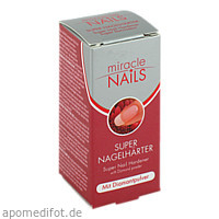 MIRACLE Nails Super Nagelhärter, 8 ML, Office Martinett