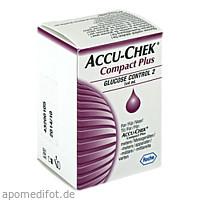 Accu-Chek Compact Plus Glucose Control 2, 4 ML, Roche Diabetes Care Deutschland GmbH