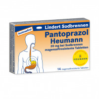 Pantoprazol Heumann 20mg bei Sodbrennen msr. Tabl., 14 ST, Heumann Pharma GmbH & Co. Generica KG