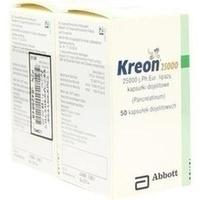KREON 25.000 Hartkps.m.magensaftr.überz.Pellets, 100 ST, Emra-Med Arzneimittel GmbH