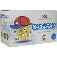 ORTOPAD for boys medium Augenokklusionspfl., 100 ST, Trusetal Verbandstoffwerk GmbH