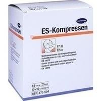 ES-Kompressen steril 7.5x7.5cm Großpackung, 10X10 ST, Paul Hartmann AG