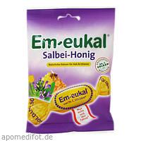 EM EUKAL BONBON Salbei Honig ZH, 75 G, Dr. C. Soldan GmbH