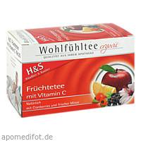 H&S Früchte mit Vitamin C, 20X2.7 G, H&S Tee - Gesellschaft mbH & Co.