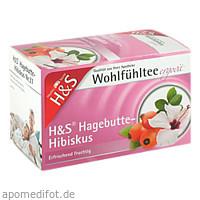 H&S Hagebutte mit Hibiskus, 20X3.0 G, H&S Tee - Gesellschaft mbH & Co.