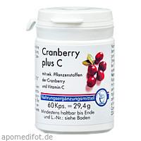 Cranberry + C Kapsel, 60 ST, Pharma Peter GmbH