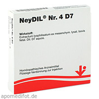 NeyDIL Nr. 4 D7, 5X2 ML, Vitorgan Arzneimittel GmbH
