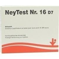 NeyTest Nr. 16 D7, 5X2 ML, Vitorgan Arzneimittel GmbH