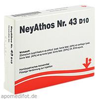 NeyAthos Nr. 43 D10, 5X2 ML, Vitorgan Arzneimittel GmbH