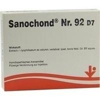 Sanochond Nr. 92 D7, 5X2 ML, Vitorgan Arzneimittel GmbH