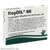 NEYDIL Nr.66 Revitorgan Dil.D 4 pro Ampullen vet., 5X2 ML, vitOrgan Arzneimittel GmbH
