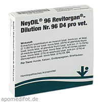NEYDIL Nr.96 Revitorgan Dil.D 4 pro Ampullen vet., 5X2 ML, vitOrgan Arzneimittel GmbH