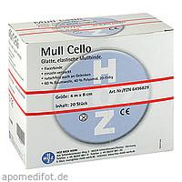 mull Cello elast. Mullbinde 8cmx4m, 20 ST, Hoz Medi Werk Produktions- und Vertriebs GmbH & Co. KG