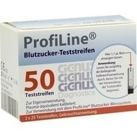 ProfiLine Teststreifen Cignus, 2X25 ST, Forum-Telemedizin GmbH