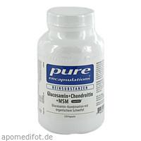 PURE ENCAPSULATIONS Glucosamin + Chondroitin+MSM, 120 ST, Pro Medico GmbH