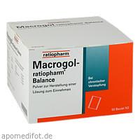 Macrogol-ratiopharm Balance Pulv. z.H.e.Lsg.z.Ein., 50 ST, ratiopharm GmbH