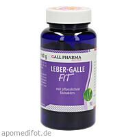 Leber-Galle-Fit GPH Kapseln, 90 ST, Hecht-Pharma GmbH
