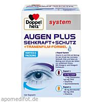 Doppelherz Augen plus Sehkraft+Schutz Syst. Kps., 120 ST, Queisser Pharma GmbH & Co. KG